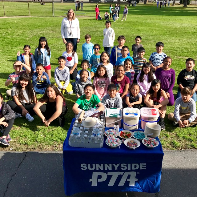 100 % field trip participation Ice Cream winners ! Thank You PTA :)